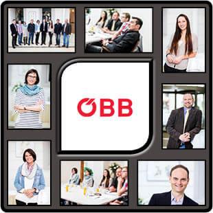 Fotograf für Businessaufnahmen fotografierte ÖBB