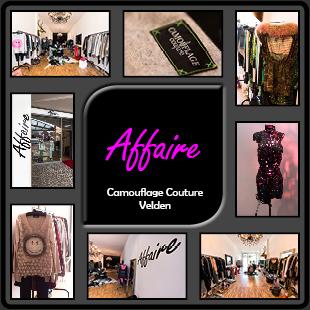 Affaire Modegeschäft velden camouflage couture