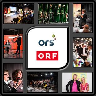 Fotograf im ORF Landesstudio Kärnten mit Fotoshooting von TV Fernsehen Moderatorin und Infromationsveranstaltung des ORS