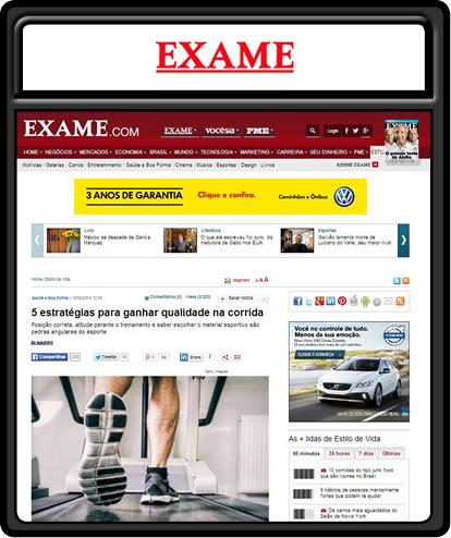 lauffoto in der brasilianischen Zeitung exame von klagenfurter fotografen
