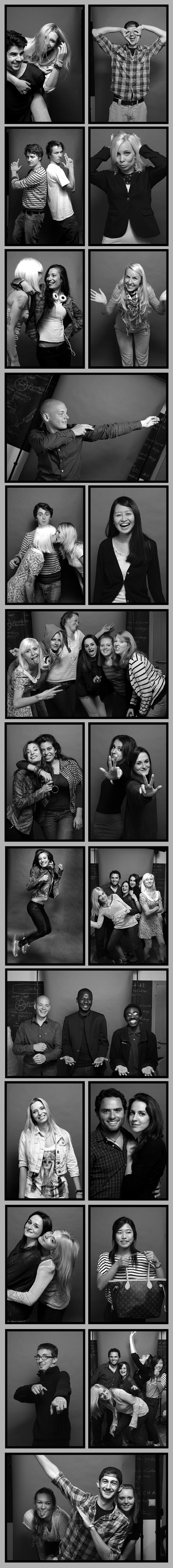 Klagenfurt Exchange Fotoausstellung - Austauschstudenten der Alpen Adria Universität Klagenfurt im Charakterportrait - Die Dunkelkammer Serie