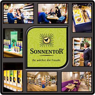Sonnentor Geschäft in Klagenfurt, Kärnten,, Österreich