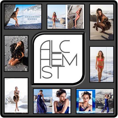 Fashion Editorial im Fashion Magazine, the Alchemist