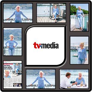 tv media mit barbara schöneberger in Klagenfurt von fotograf aus kärnten