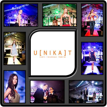 Modenschau von UNIKAT Event und Mode Agentur