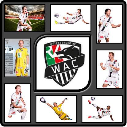 Fotografiert in Wolfsberg für den Bundesliga Fußball Verein WAC, Wolfsberger AC