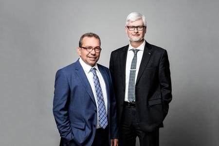 Dkfm. Armin Wiersma & Dipl.-Ing. Manfred Freitag - Vorstand des Kelag Konzerns
