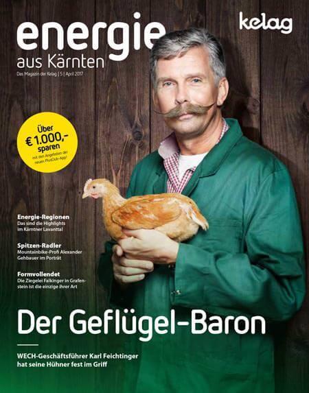 DI Dr. Karl Feichtinger - Geschäftsführung WECH Geflügel
