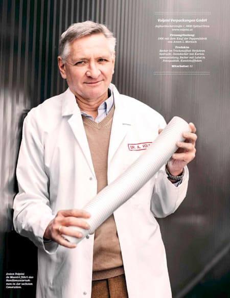 Dr. Anton Volpini de Maestri - Geschäftsführer Volpini Verpackungen GmbH