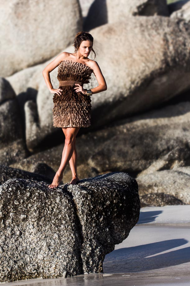 High Fashion Photoshoot With Jessica Lee Buchanan At Clifton Beach For Ice Models Cape Town