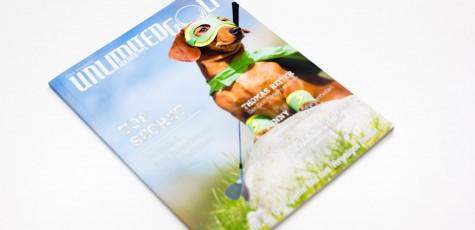 Das Unlimited Golf Magazin mit Fashion Mode Fotostrecke von Fotograf Daniel Waschnig aus Klagenfurt, Villach, Kärnten