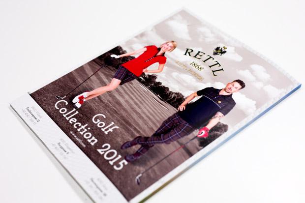 Rettl Werbung im Unlimited Golf Magazin mit Fashion Mode Fotostrecke von Fotograf Daniel Waschnig aus Klagenfurt, Villach, Kärnten