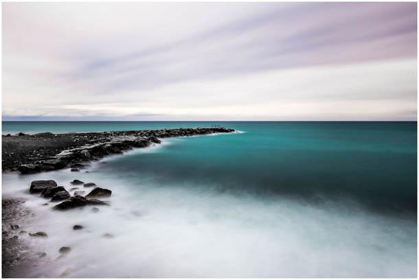 Fotos vom Meer in Sanremo, Ligurien, Italien von Fotografen aus Villach