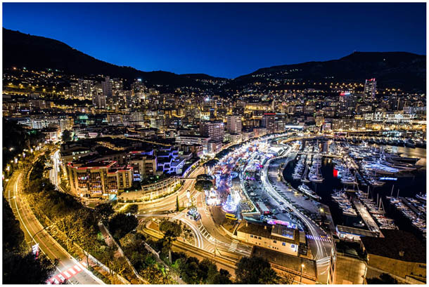 Foto von Monaco, Monte-Carlo vom Felsen Le Rocher beim Fürstenpalast von fotografen aus Feldkirchen, Kärnten