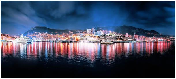 Foto vom Hafen und Yachten in Monte-Carlo, Monaco von Fotografen aus Klagenfurt, Kärnten, Österreich