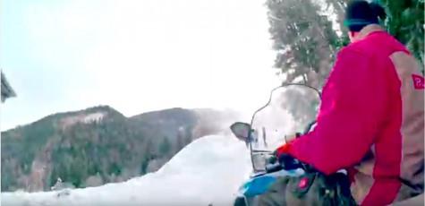 fotoshooting in bad kleinkirchheim in kärnten am berg im winter