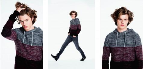 male model fotoshooting im studio für friseur aus Spittal an der Drau