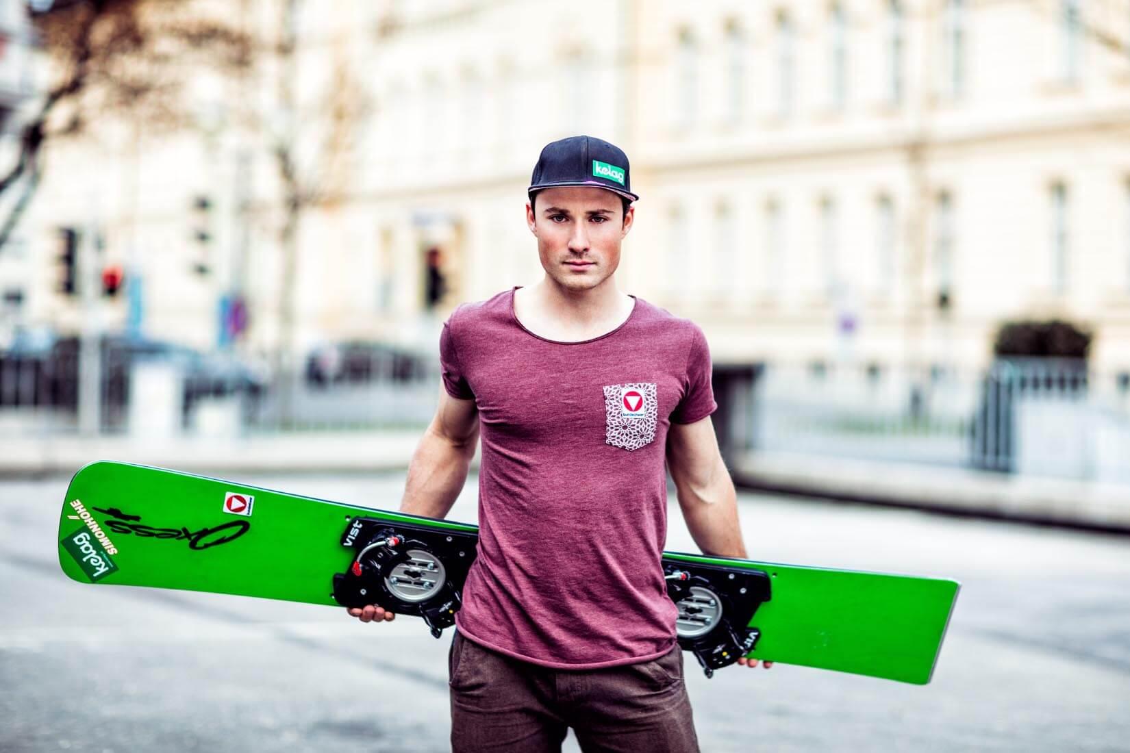 kärntner snowboard profis sabine schöffmann und alexander payer