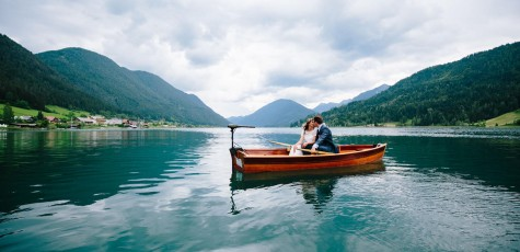Hochzeit am Weißensee in Kärnten bei Hermagor. Fotografiert von Hochzeitsfotograf und besten Fotograf aus Klagenfurt, Villach St. Veit
