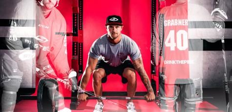 Sportfotograf und Werbefotograf in Kärnten NHL Spieler Michael Grabner der New York Rangers und Michael Raffl der Philadelphia Flyers für die neue Biosteel Kampagne