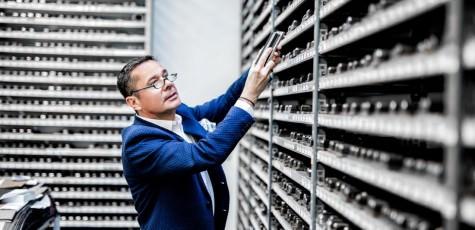Werbefotografie und Businessfotografie für Robert Hirsch - CEO Hirsch Armbänder in Klagenfurt
