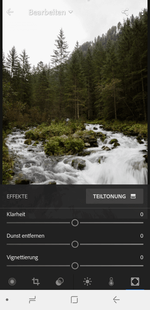 Lightroom Mobile auf Android