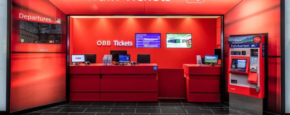 Architekturfotos ÖBB Flughafen Wien, Innenarchitekturfotograf aus Kärnten