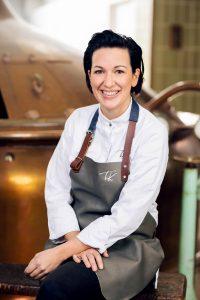 Tici Kaspar fotografiert für Küchenkult in der Villacher Brauerei in Villach