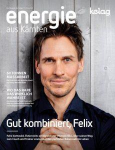 Cover Foto von Felix Gottwald für das Magazin Energie aus Kärnten