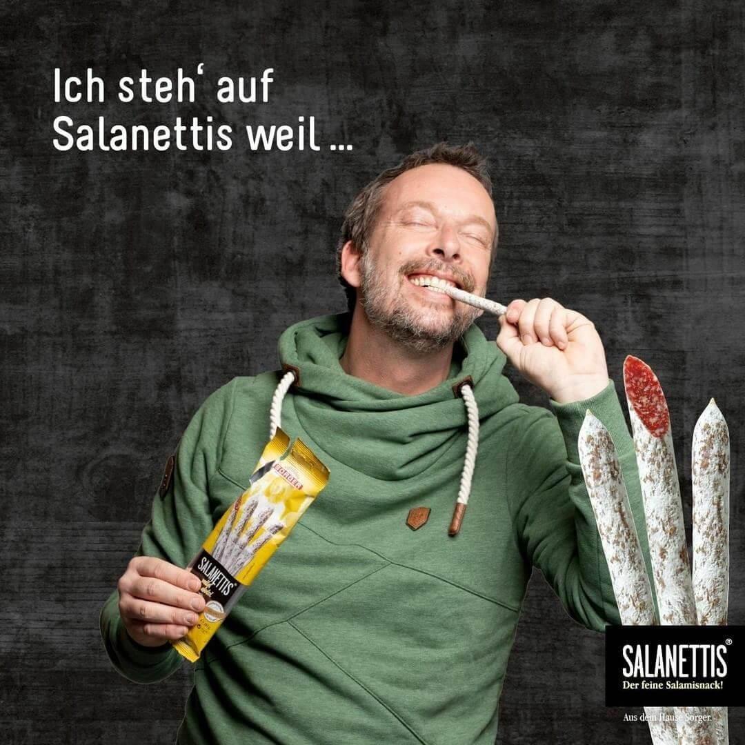 Salanettis Kampagne mit Robert Kratky von Ö3 (1)